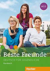 Beste Freunde A2.1 Kursbuch / Учебник