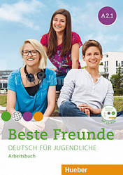 Beste Freunde A2.1 Arbeitsbuch mit CD-ROM / Рабочая тетрадь