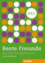Beste Freunde A2.1 Lehrerhandbuch / Книга для учителя