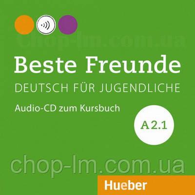 Beste Freunde A2.1 Audio-CD zum Kursbuch /  Аудио диск к учебнику