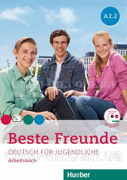 Beste Freunde A2.2 Arbeitsbuch mit CD-ROM / Рабочая тетрадь