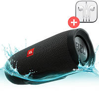 Портативная Bluetooth колонка JBL Charge 3 + MP3 FM USB. Черная. Black