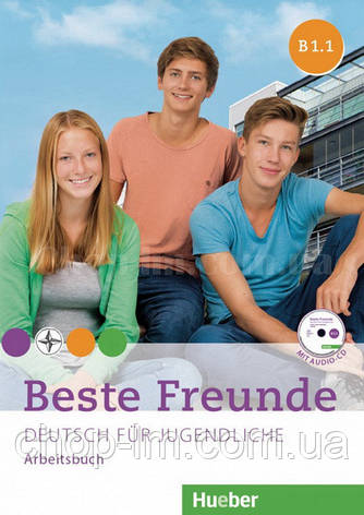Beste Freunde B1.1 und B1.2 Arbeitsbuch Paket mit 2 CD-ROMs / Набор книг, фото 2