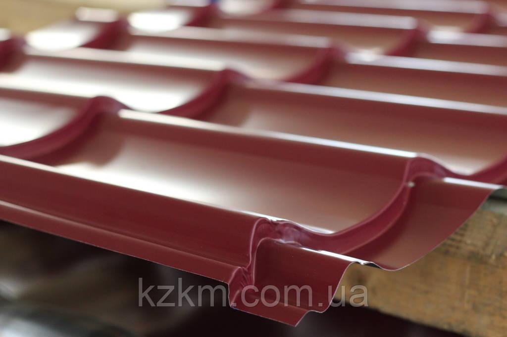 Металлочерепица глянец МОНТЕРЕЙ, цена от производителя