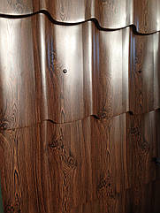 Металлочерепица под ДЕРЕВО, металл под дерево, Монтерей, КРОВЛЯ под ДЕРЕВО, Корея, МОНТЕРРЕЙ