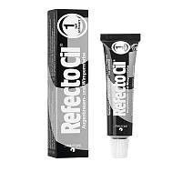 Краска для бровей и ресниц (глубокая черная) RefectoCil №1 Pure Black , 15мл