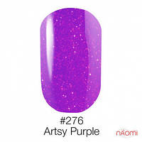 Гель-лак Naomi Neon Color 276 - Artsy Purple, 6 мл