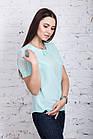 Женская блузка в casual стиле весна-лето 2018 - (код бл-206), фото 5