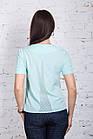 Женская блузка в casual стиле весна-лето 2018 - (код бл-206), фото 6