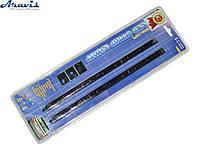 Подсветка салона А-90101B-25  9LEDх25см в прикуриватель/звук.сенсор/синяя