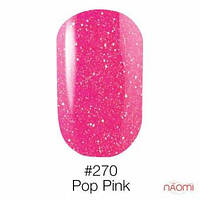 Гель-лак Naomi Neon Color 270 - Pop Pink, 6 мл