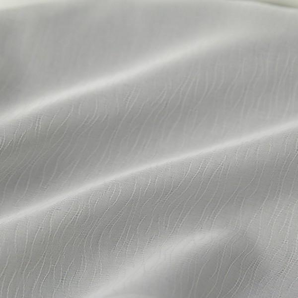 Тюль-органза, молочний AGAC KABUGU-001
