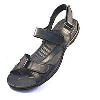 Сандалии босоножки мужские кожаные черные Rosso Avangard Sandals Esso