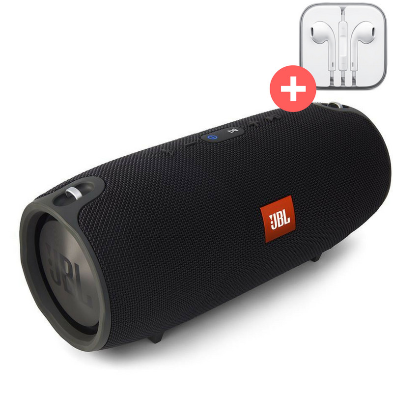 Колонка JBL Xtreme mini  блютуз  MP3 FM USB Quality Replica. Черная. Black