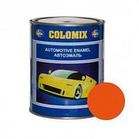 Автокраска 1025 Оранжевая COLOMIX алкидная краска 1л