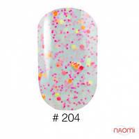Гель-лак Naomi Candy Bar 204, 6 мл