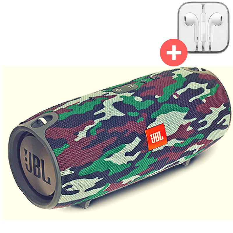 Портативная колонка  Bluetooth Powerbank JBL Xtreme mini  блютуз  MP3 FM USB Quality Replica. Камуфляж. Militari