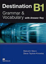 Destination B1 Grammar & Vocabulary Pre Intermediate Student Book with Key (учебник по грамматике с ответами)