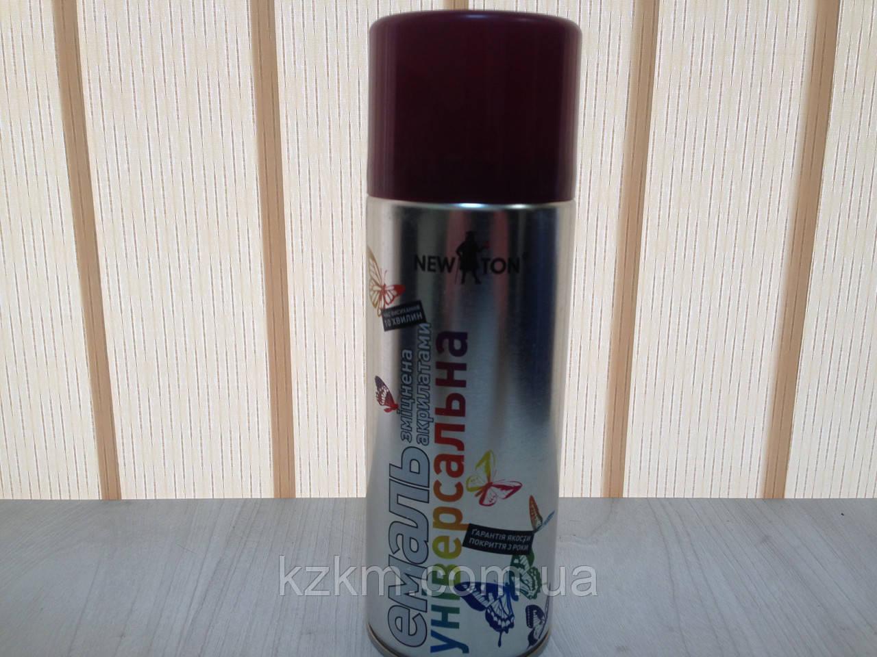Краска для оцинковки темно-вишневая, ral 3005