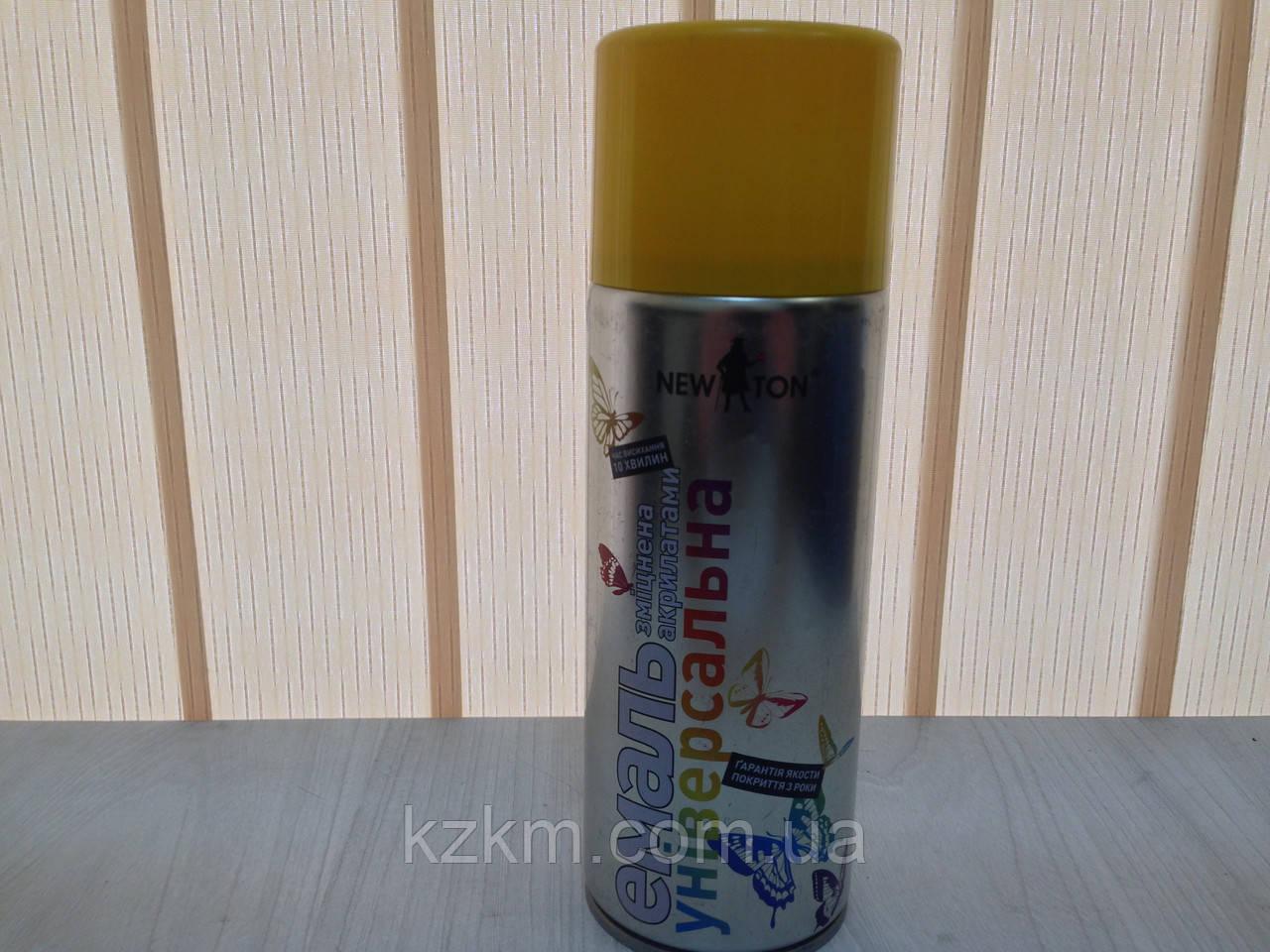 Краска для профнастила желтая, ral 1023
