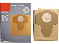 Мешки бумажные к пылесосу Einhell 20 л. 5 шт 2351152