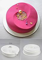 Форма силиконовая для муссовых тортов DUNE, силикомарт (Silikomart), форма для десертов