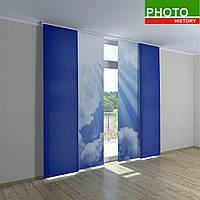 Японские фотошторы облака