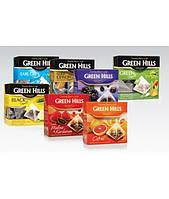 Чай  пирамидки фруктовые Green Hills 20x2гр