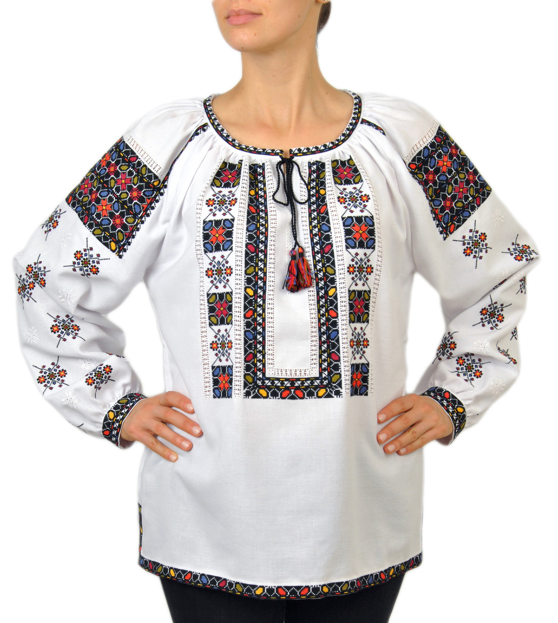 Жіноча оригінальна вишита блузка ручної роботи   продажа eba5e8e2bb2fc