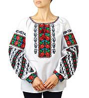 Жіноча вишиванка з якісною машинною вишивкою , фото 1