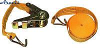 Стяжка груза 3T х47мм х12м ST-213D-12 OR (мех.+трос)