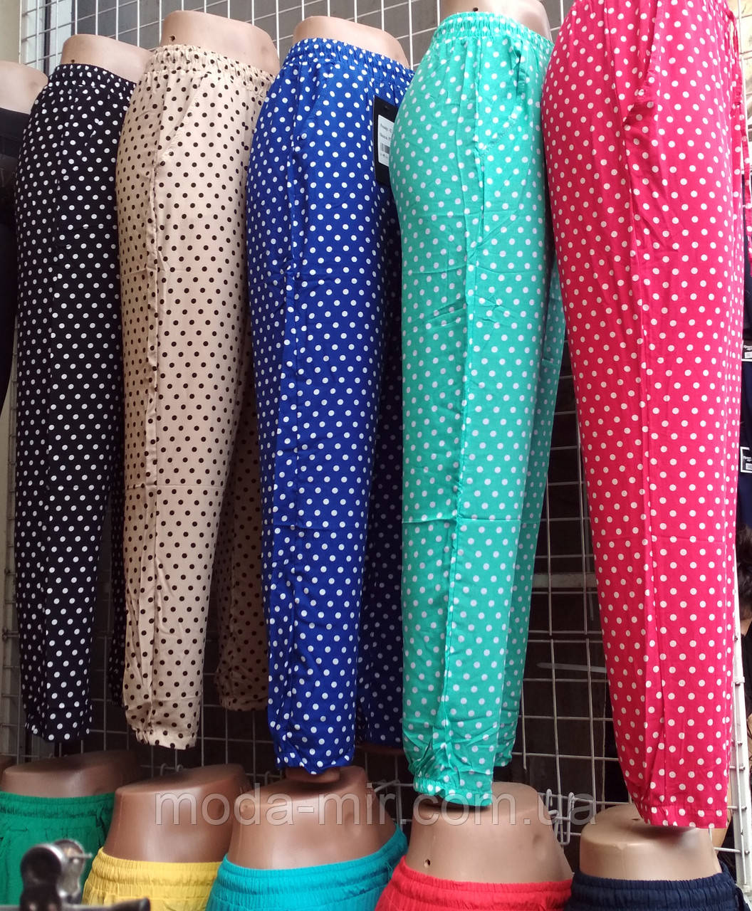 Летние женские штаны из штапеля - Модный Мир в Хмельницком ad828998e368e