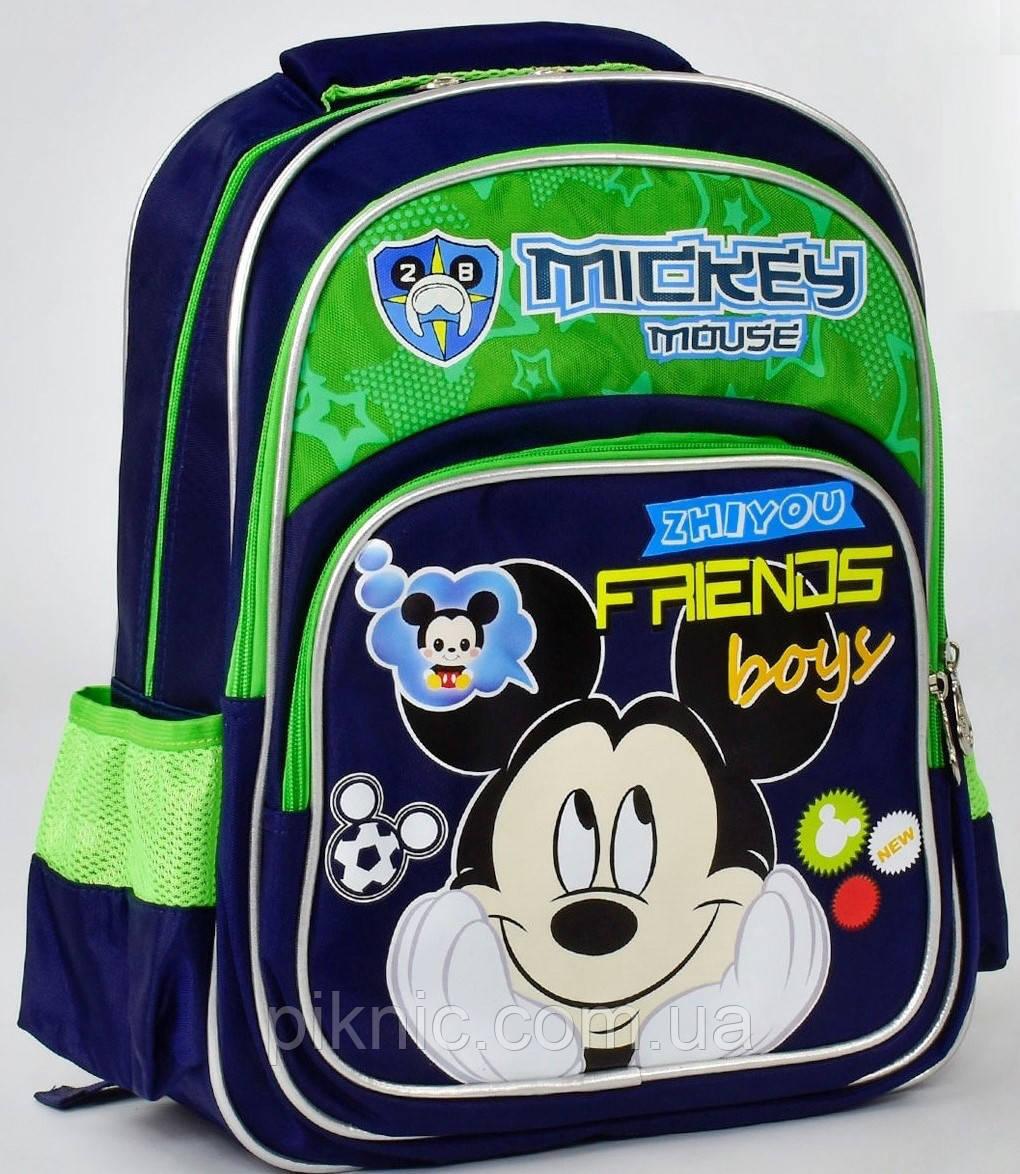 65ec08b0c01e Школьный рюкзак ортопедический Микки Маус №2 для мальчиков. Детский  портфель ранец для школы 1