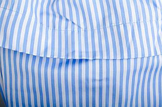 Балі. Модне плаття з рюшами великих розмірів. Блакитна полоска Розмір 50 52  54 56 50311ad4999de