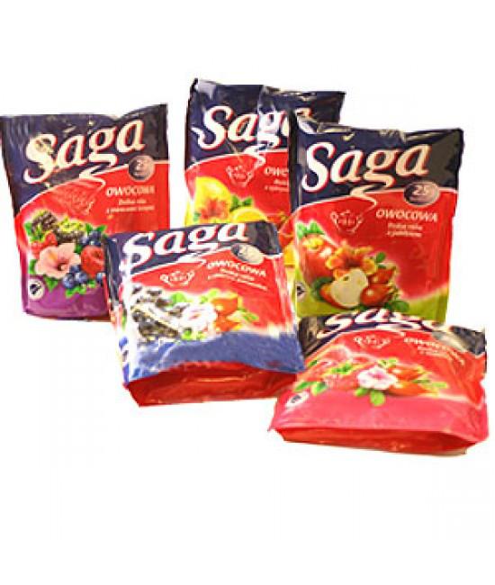 Чай фруктовий Saga 35x2гр