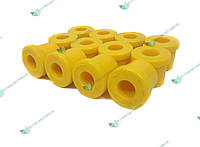 Втулка ресори УАЗ Патріот поліуретан жовтий (компл.12шт) (пр-во Липецьк, Росія)