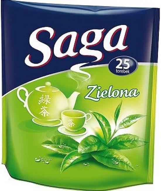 Чай зелений Saga 35х2гр