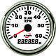 Тахометр і лічильник мотогодин ECMS білий 900-00011, фото 2