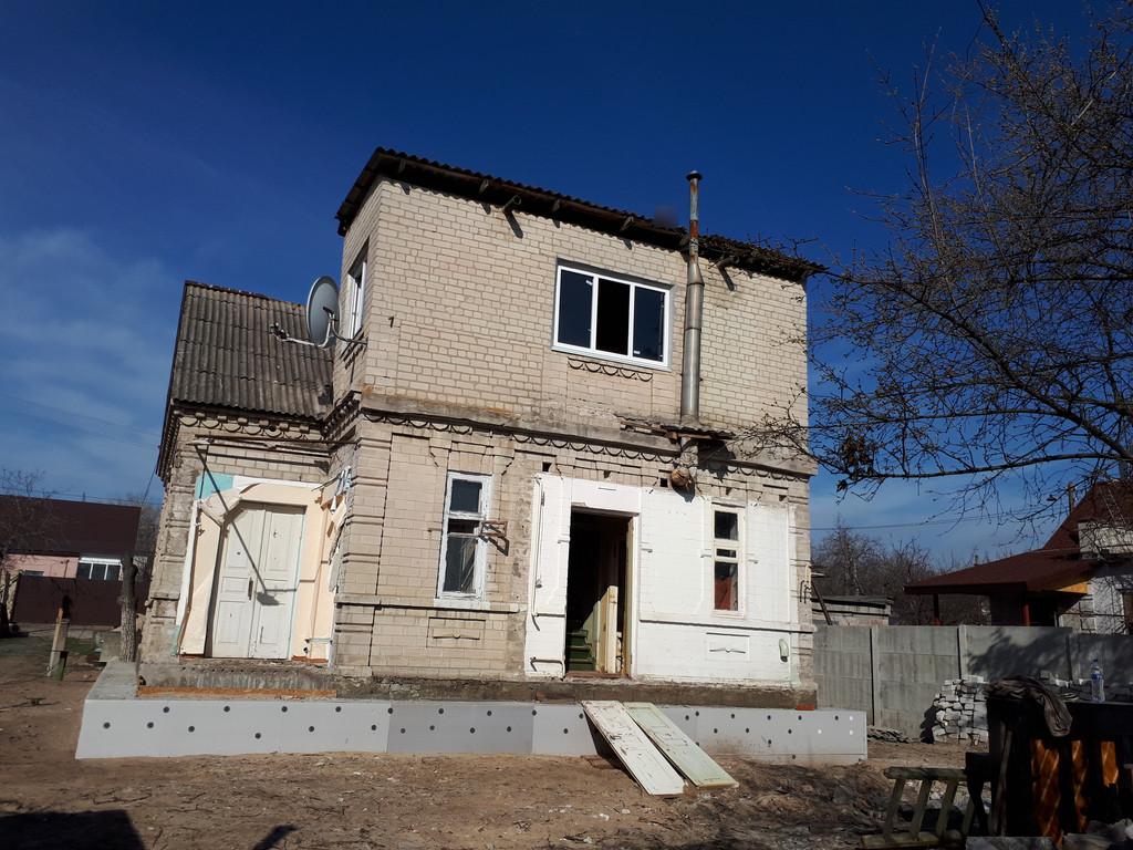 Демонтаж кирпичного дома в Приднепровске  2