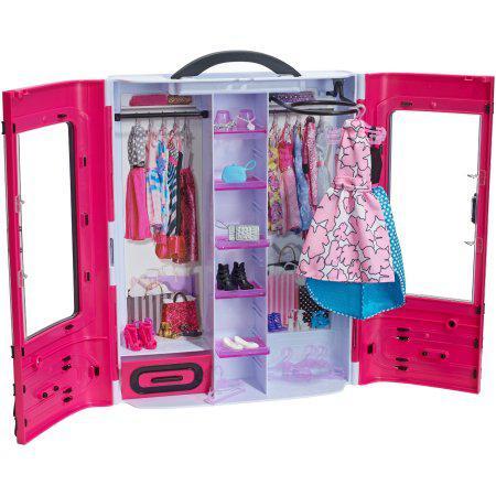 Игровой набор шкаф чемодан для Барби Barbie Fashionistas Ultimate Closet