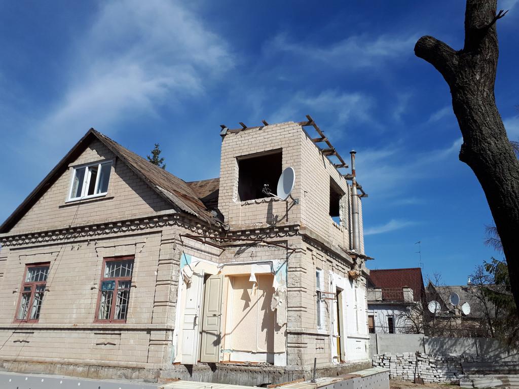 Демонтаж кирпичного дома в Приднепровске  3