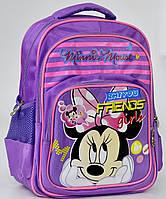 Школьный рюкзак ортопедический Микки Маус №4 для девочки. Детский портфель ранец для школы 1, 2, 3, 4 класс