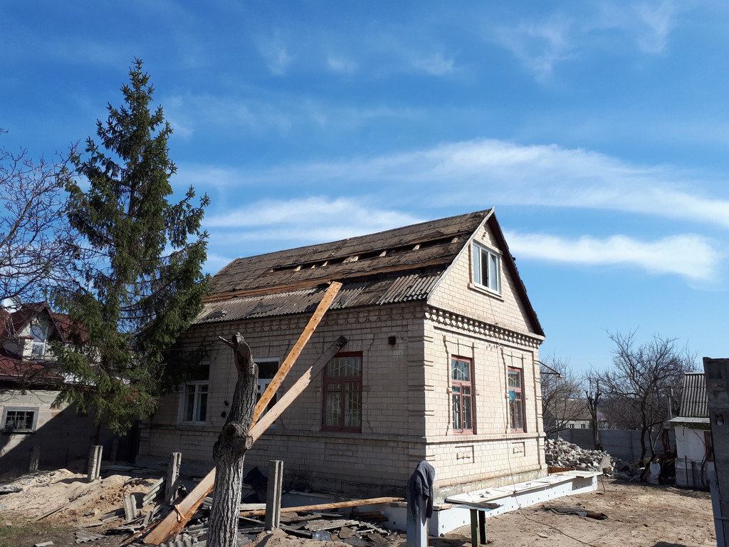 Демонтаж кирпичного дома в Приднепровске  4