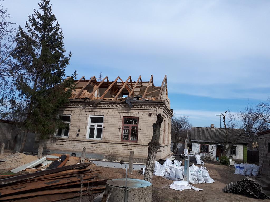 Демонтаж кирпичного дома в Приднепровске  6