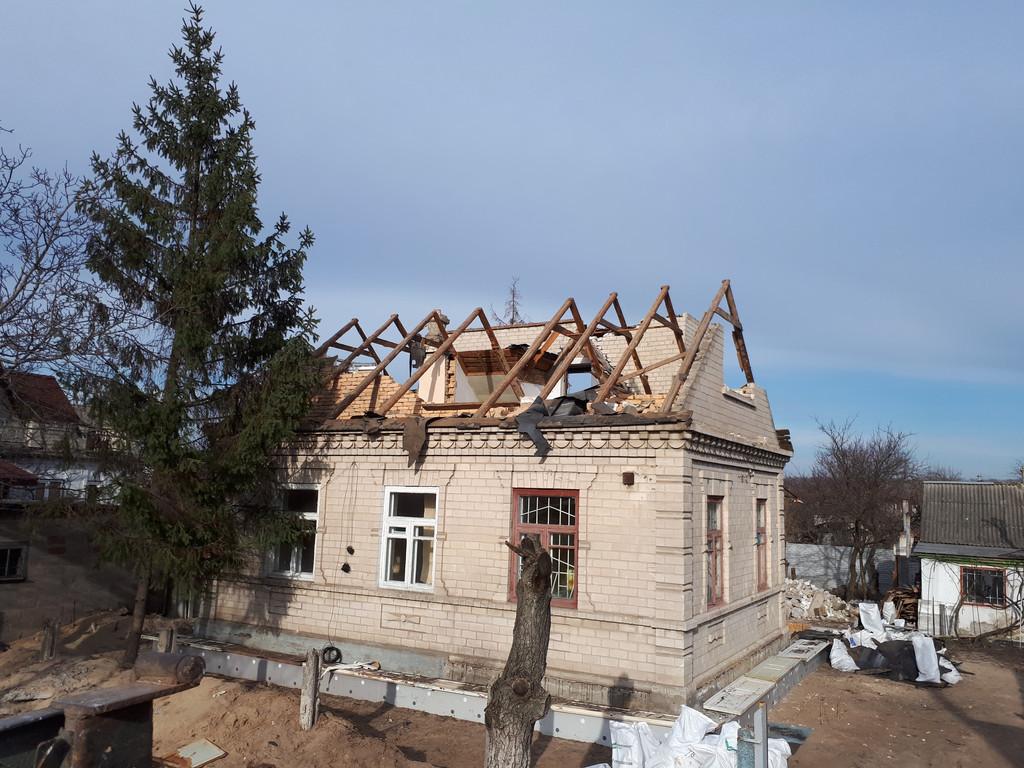 Демонтаж кирпичного дома в Приднепровске  8