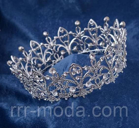 Свадебная бижутерия оптом: короны, колье, серьги, диадемы.