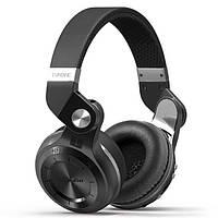 Беспроводные наушники Bluedio T2 Plus FM радио и поддержка SD Card, черные