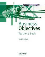 Business Objectives International Edition Teacher's Book / Книга для учителя