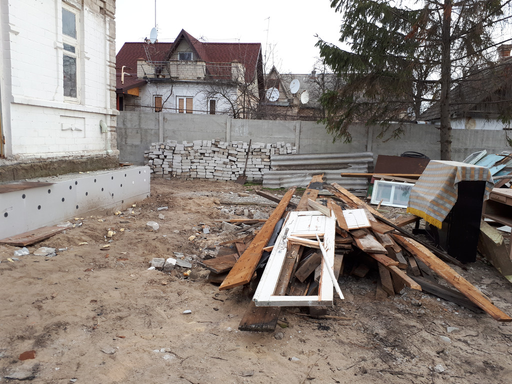 Демонтаж кирпичного дома в Приднепровске  9