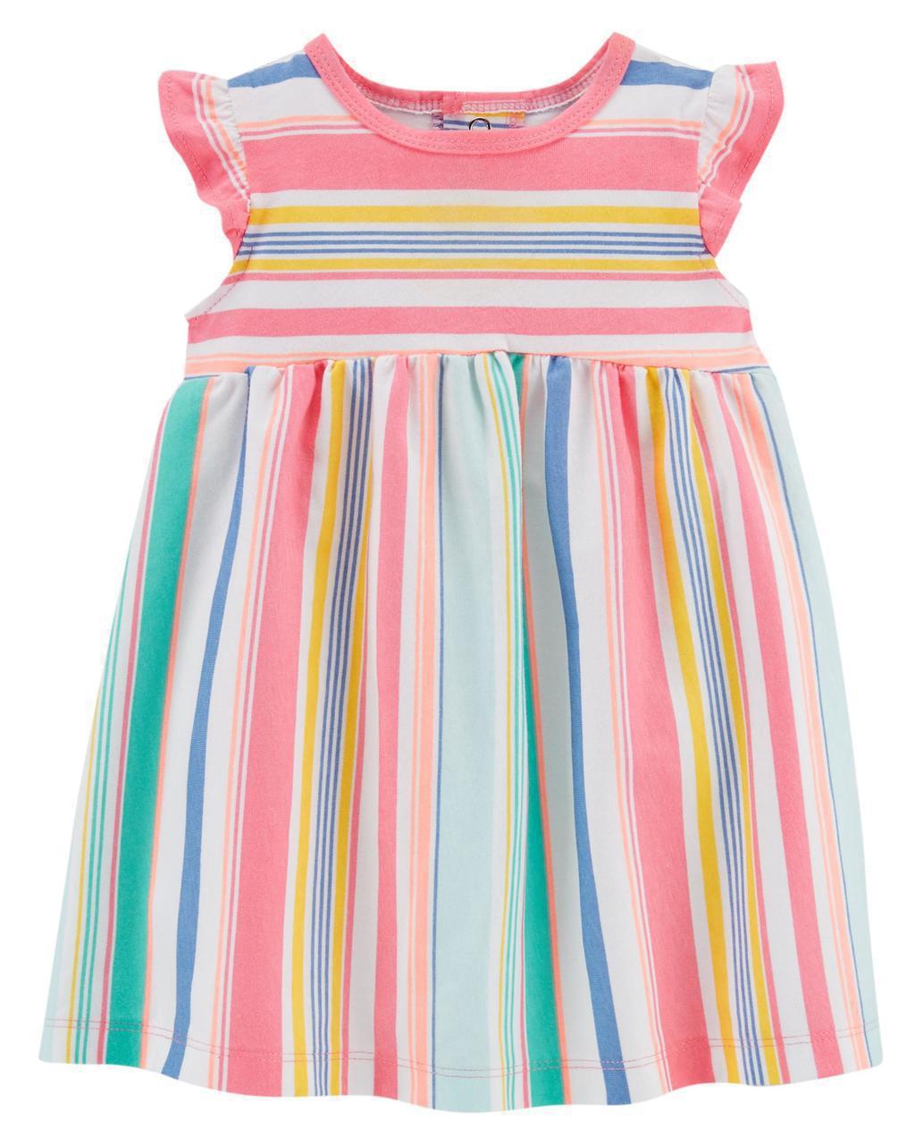 Летнее платье + трусики Carters для девочки 9 мес 67-72 см. Комплект 2-ка